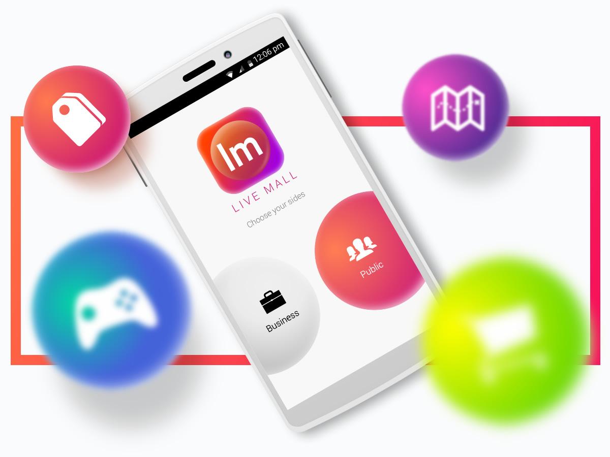 Livemall App Design Malaysia