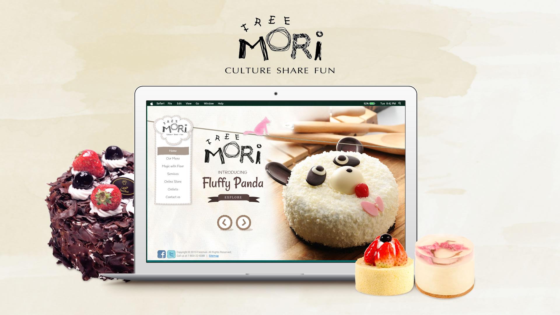 Freemori Malaysia website design